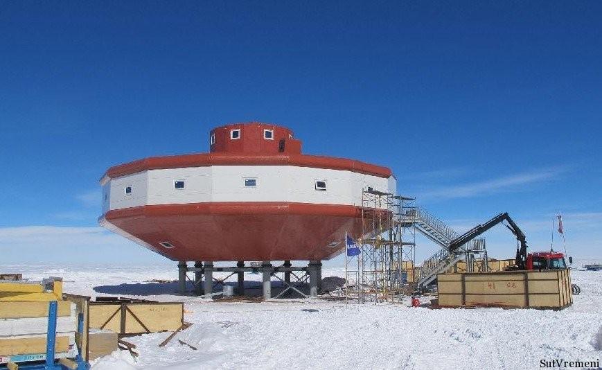 тяшань антарктида