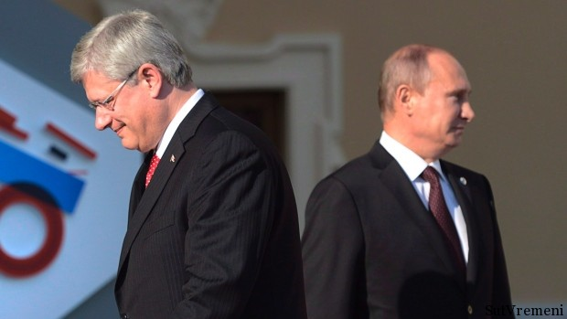 путин с канадским премьером