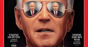 Путина в очках Байдена